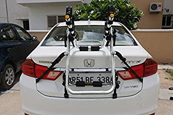 Car Mounted Cycle Rack: Joy Ride, (Stainless Steel 304 Grade)