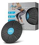 Aduro Sport Balance Board Wackelbrett Fitness Fit Übung kippstabilität Balancer Ausgleichende Rocker Board Trainer ABS Beine Core Workout, Oberfläche