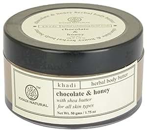 Khadi Natural Chocolate and Honey Body Butter, 50g