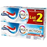 Aquafresh - Dentifrice multi action blancheur - Le lot de 2 tubes de 75ml - (pour la quantité plus que 1 nous...