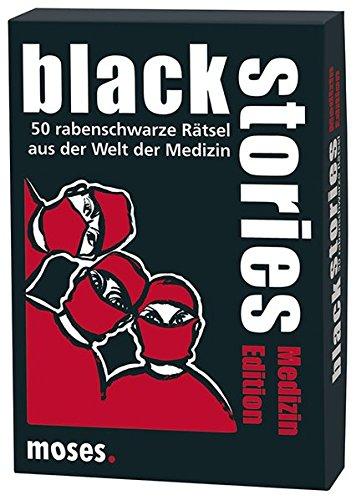 black stories - Medizin Edition: 50 rabenschwarze Rätsel aus der Welt der Medizin