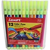 Sketch Pen Assorted Colours - By Luxor (Set Of 4)