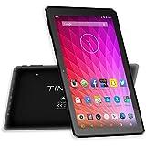 "Tablet de 10.1"" pulgadas Quad Core WIFI Android 5.1 Tablet PC (1024x600 HD MTK8163 1,3 GHz 1GB de RAM 16GB memoria interna Bluetooth 4.0 GPS HDMI OTG Batería 6000mAh) Color Negro"