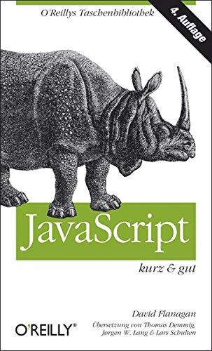 JavaScript - kurz & gut Buch-Cover