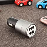 Universal Travel Car Charger Dual 2.1A USB Multifunctional Conversion Power Adapter Socket Converter