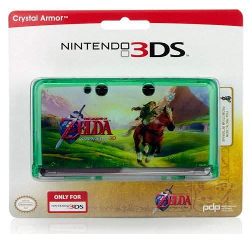 Zelda Ocarina of Time Limited Edition Crystal Case (Nintendo 3DS)