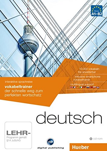 interaktive sprachreise vokabeltrainer deutsch: der schnelle weg zum perfekten wortschatz / 1 CD-ROM...