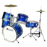 Dimavery 26001950 JDS-305 Kinder Schlagzeug blau