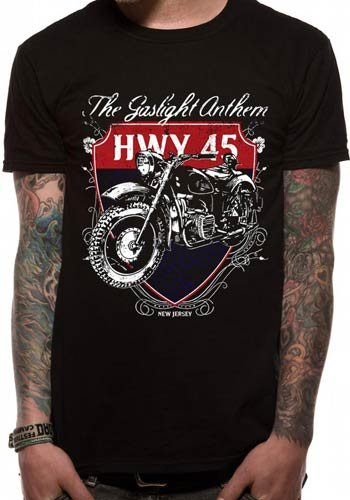 The Gaslight Anthem /'Boxing Gloves/' T-Shirt NEW /& OFFICIAL!