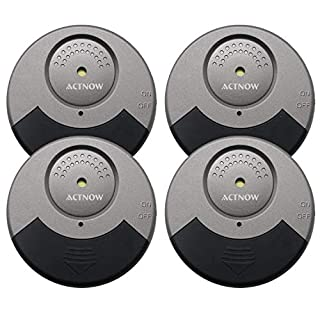 Actnow Door Window Alarm -Ultra-Slim 100db Alert Family Security ALARM System Door alarms Sensor for Home Traveling
