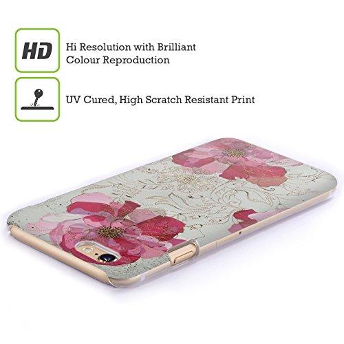 Ufficiale Turnowsky Margherita Delicata Nebbia Cover Retro Rigida per Apple iPhone 6 Plus / 6s Plus Rosa Assoluto