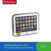 Fisher-Price Ma Tablette Puppy Jouet Bébé pour Apprendre les Lettres, les Mots et les Animaux, 12 Mois et Plus, CDG56