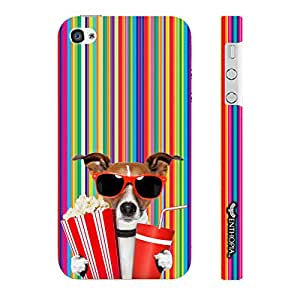 Enthopia Designer Hardshell Case Whose your Doggy? Back Cover for Apple IPhone 4