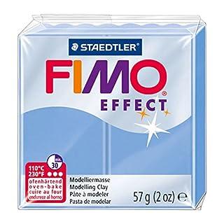 Staedtler 8020-386 - Fimo Effect Normalblock, 57 g, blau-achat