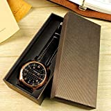 WRQZG Watch Packaging Carton Gift Box Jewelry Accessories Box Folding Box Black