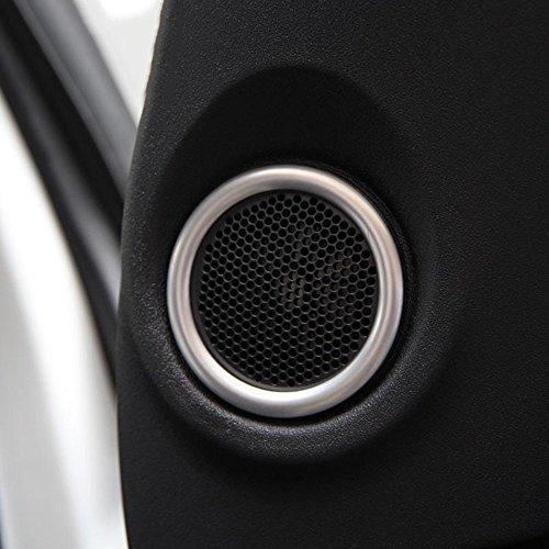 Voiture Chrome Cover Trim de bague enceinte de porte Autocollant pour Freelander 2 accessoires 2008?2015 Décorations de style