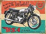empireposter BSA Rocket Nostalgische Motorräder Blechschild BSA - Grösse 20x15 cm