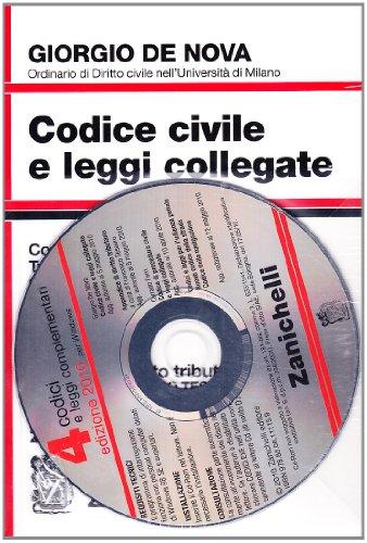 Codice civile e leggi collegate 2010. Con CD-ROM