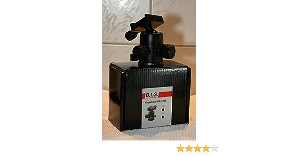 B I G 425834 Bs 1300 Kugelkopf Schwarz Kamera