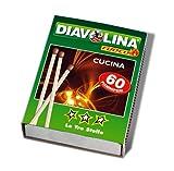 Fiammiferi da cucina Diavolina (60 pz.)
