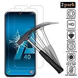 ANEWSIR Vetro Temperato Pellicola Protettiva per Samsung Galaxy A40, Vetro Temperato Samsung Galaxy A40 [Durezza 9H] Adatto per Samsung Galaxy A40 (2 Pezzi)