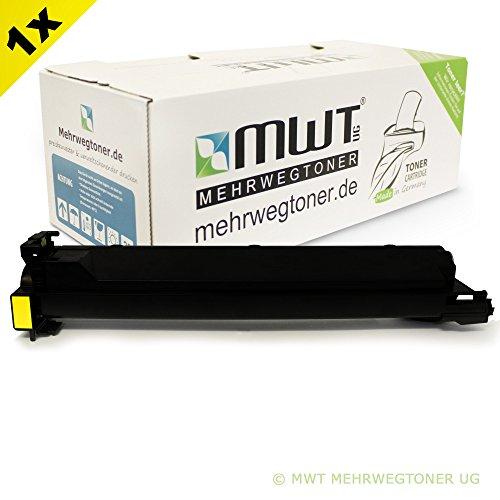 Mehrwegtoner Kompatibler Toner Yellow XXL für Konica Minolta Bizhub C203 C200 C253 C353 Kopierer - ersetzt TN-213 A0D7252 (Konica Minolta C200)