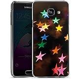 Samsung Galaxy A3 (2016) Housse Étui Protection Coque Étoiles couleurs Motif