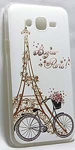 Storeaturdoor Cute Diamond Eiffel Tower Paris Print Hard Back Case Cover For Samsung Galaxy Grand 2 G7106 / G7102
