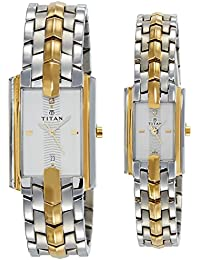 Titan Bandhan Analog Multi-Color Dial Couple's Watch -NK19262926BM01