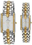 Titan NH19262926BM01 Bandhan Analog Multi Color Dial Couple's Watch (NH19262926BM01)