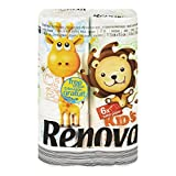 #4: Renova Toilet Paper Kids Limited Edition, A two-ply Printed Toilet Paper With Colorful And Creative Illustrations,Very soft and absorbent,First Time in INDIA
