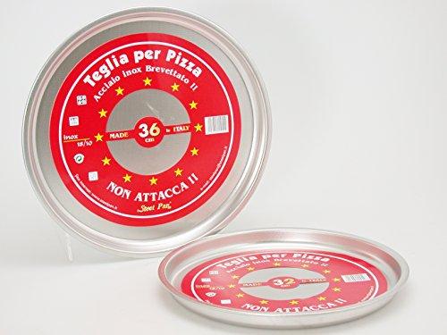 STEEL PAN Teglia pizza tondo nonstick 32 Pentole e preparazione