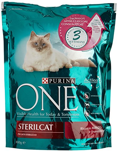 Purina One Sterilcat Cereali/Manzo - 800 gr