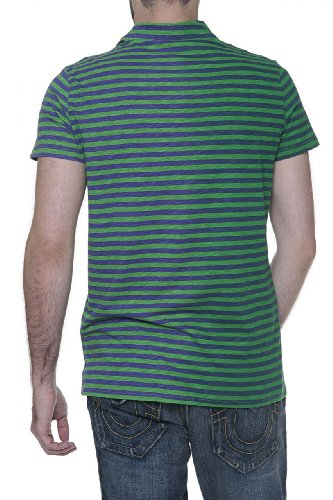 Custo Barcelona Herren Shirt Poloshirt Number 83 Grün