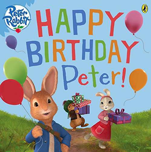 Happy birthday, Peter!.