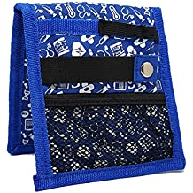 Organizador de bolsillo azul