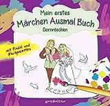 Mein erstes Märchenausmalbuch mit Pinsel und Farbpalette: Dornröschen