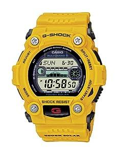Reloj de caballero CASIO G-Shock GW-7900CD-9ER de cuarzo, correa de resina color amarillo (con radio, cronómetro, luz) de Casio