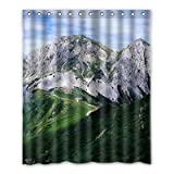 Dalliy Brauch berg Wasserdicht Polyester Shower Curtain Duschvorhang 152cm x 183cm
