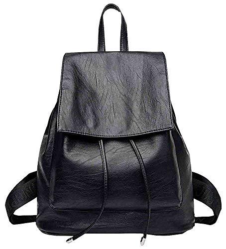 Bag Assembly (Eastery Handtasche Womens Tasche Volle Saison Tote Bag Assembly Casual Outdoor Einfacher Stil Rot Und Blau Blau Umhängetasche Rucksack, (Color : Schwarz, Size : AllCode))