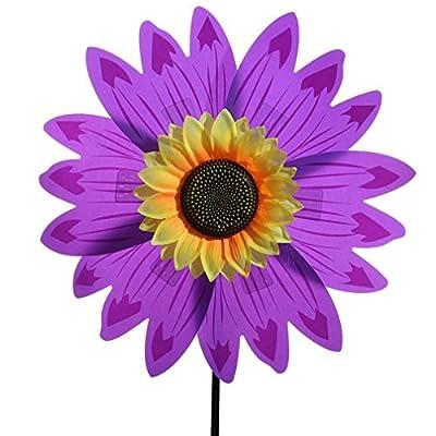 Fun Sunflower Windmill