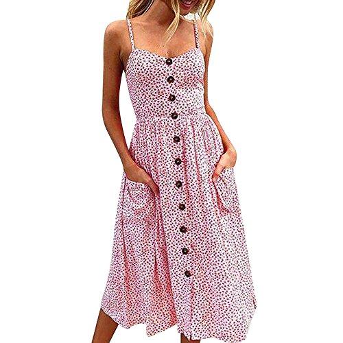 Sleeveless Einfarbig mit Bowknot Spitze Spaghetti-Armband Kleider Frau Casual Freizeit Kleider Sommerkleider Strandkleider Elegant Cocktail Kleider Party Kleider ()
