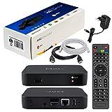 Infomir & HB-DIGITAL MAG 322w1 Original IPTV Set TOP Box WLAN (WiFi) integriert 802.11 b/g/n Multimedia Player Internet IPTV Receiver (H.256 Support) Nachfolger von MAG 254 + HDMI Kabel + LAN Kabel