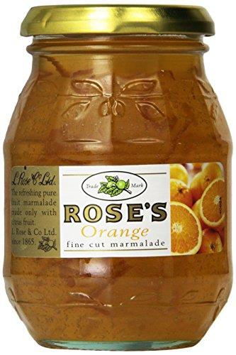 Rose's Orange Fine Cut Marmalade 454g - Feinschnitt Orangen Marmelade