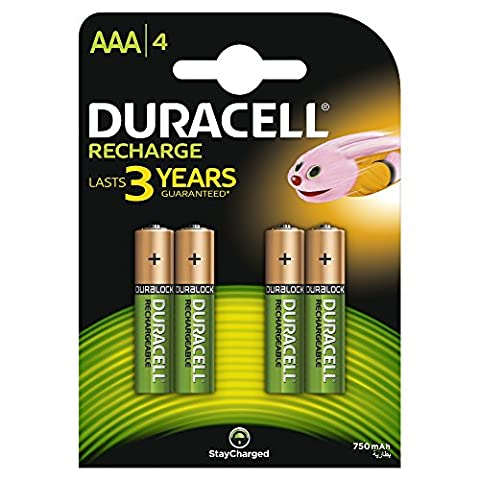 Piles Lithium Aaa - Duracell Recharge Plus Piles Rechargeables type AAA