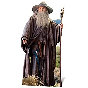 The Hobbit - Reproducción Gandalf El señor de los Anillos (Star Cutouts sc667) 3