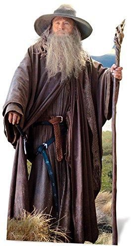 The Hobbit - Reproducción Gandalf El señor de los Anillos (Star Cutouts sc667) 1