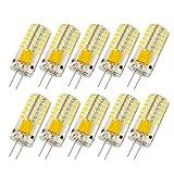 Liqoo 10x G4 AC DC 12V 3W LED Lampe Birne 230Lumen