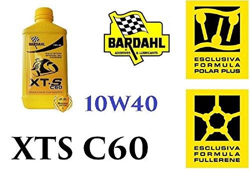 3 Litri Olio motore moto Bardahl XTS C60 10W40