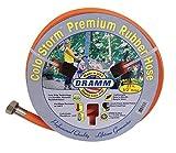 DRAMM 17032Colorstorm Premium Gummi Gartenschlauch, 25'x 1/5,1cm orange